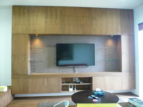壁面TVボード