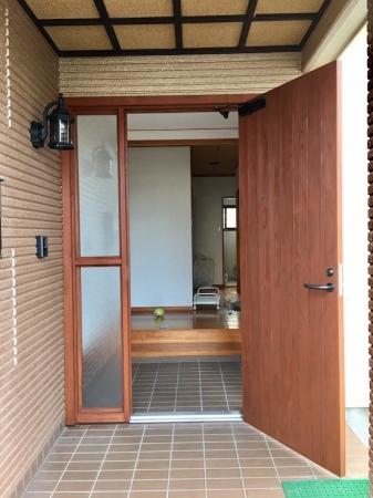 玄関ドア アフター