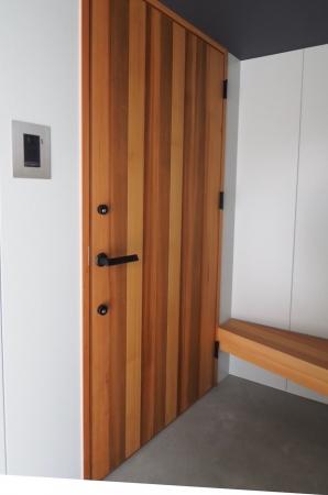 レッドシダー 玄関ドア